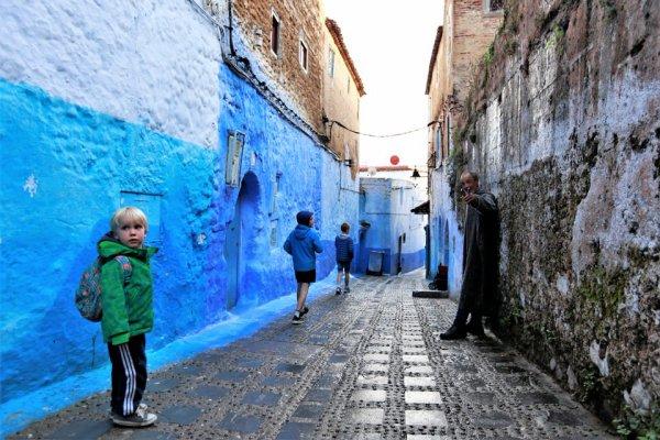 Nos premiers tours de roues au Maroc