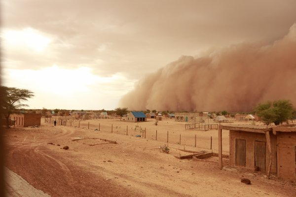 Retour en Mauritanie...