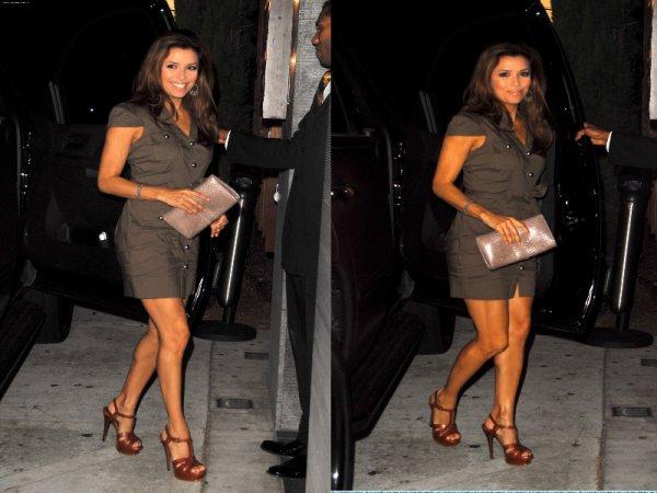 """→ 02 Los Angeles 2010, Los Angeles. Eva a été vue sortant du restaurant Japonais """" Nobu """" où elle a dîner avec Tony, Mario Lopez et son amie. Vidéo ( de mauvaise qualité :s )."""