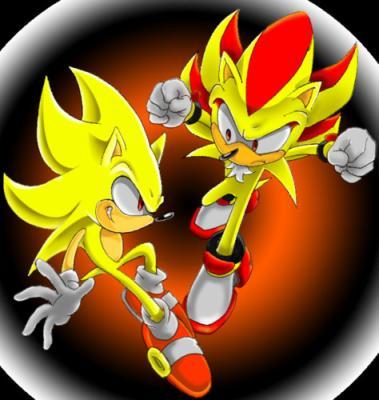 Super shadow et super sonic sonic - Sonic et shadow ...