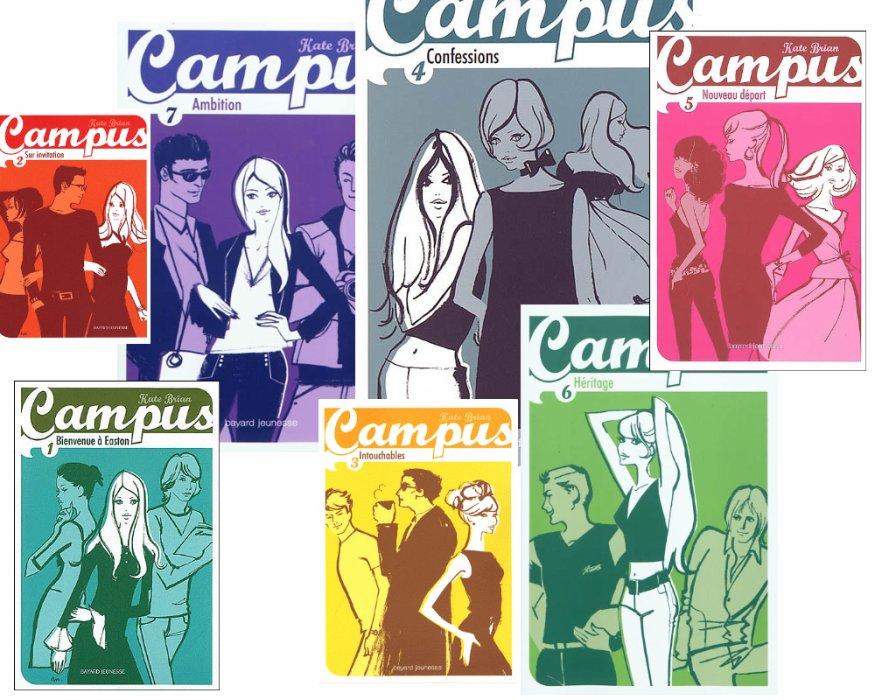 """""""Campus"""" de Kate BRIAN"""