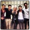 """Lawson avec Ellie Gourding cette semaine + une photo du photostat pour leur album """"Chapman square"""""""