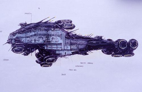 Présentation des vaisseaux dans Matrix