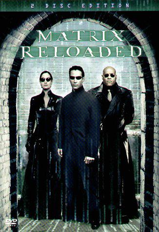 DVD The Matrix Reloaded