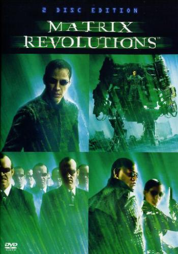 DVD The Matrix Revolutions