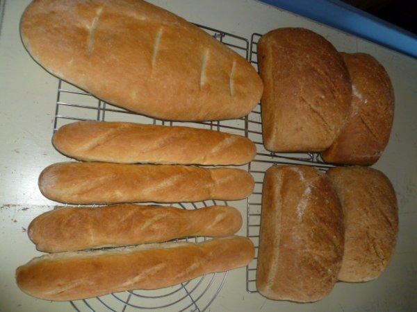 mes pains de se matin