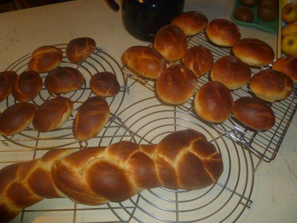 pains au lait moelleux