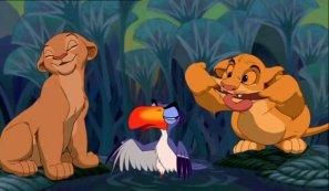 Le roi lion  / Je voudrais déjà être roi   (1994)