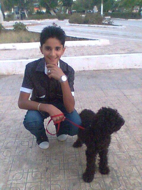 News Photos Of Shemsou LOL Mwa & Lucky le Ptiiit Canich ^^ haba klila ♪♪♪le 1er jour de l aid 2010 :@