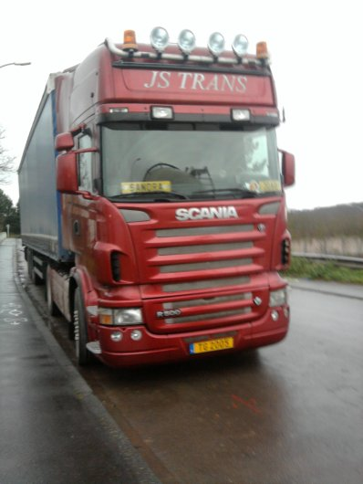 scania ( photo prise par mes soin)