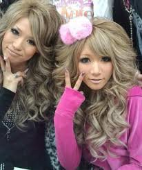 mannequins du style gyaru
