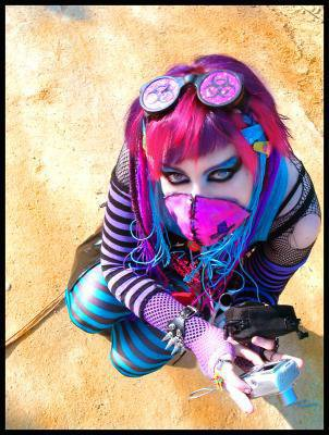 cyber punk!