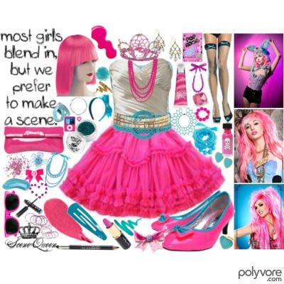 †clothing scene queen†