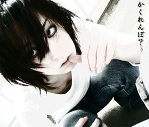 "Death note ""L"" cosplay"