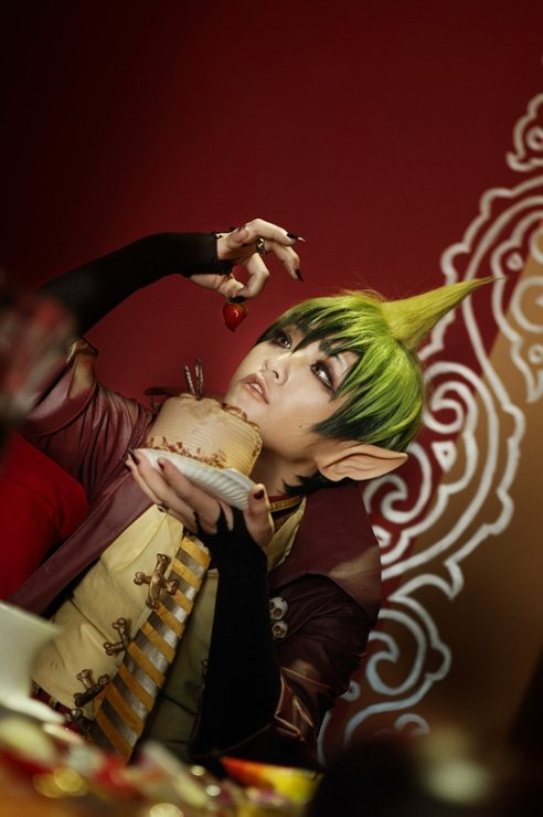 Ao no exorcist cosplay!