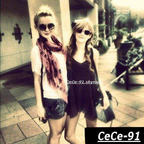 Bella et Kathryn faisant du shopping le 3 septembre  ♥