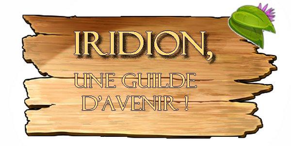 Pourquoi Rejoindre la Guilde IRIDION ?