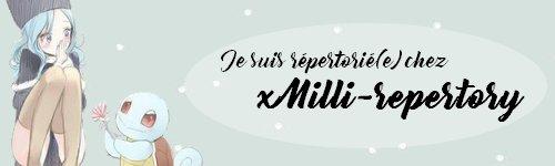~ Bannières du Répertoire ~