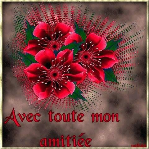 AVEC TOUTE MON AMITIE