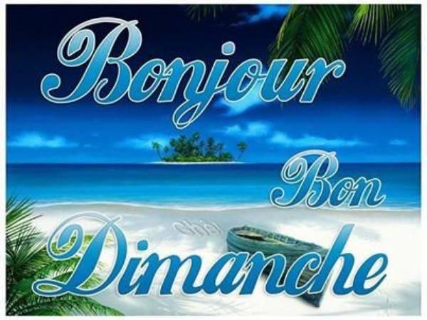 BON DIMAMCHE