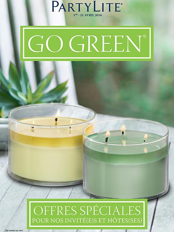 Offres Go Green du 1er.04 au 21.04.2016