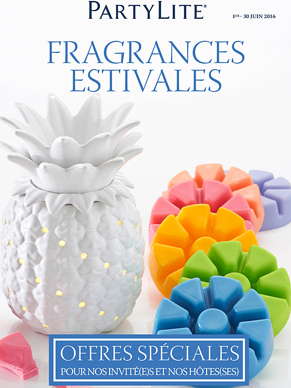 Fragrances Estivales du 1er.06 au 30.06