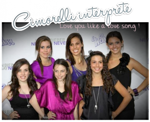 · CIMORELLI REPREND LE TUBE DE SELENA « LOVE YOU LIKE A LOVE SONG » ·