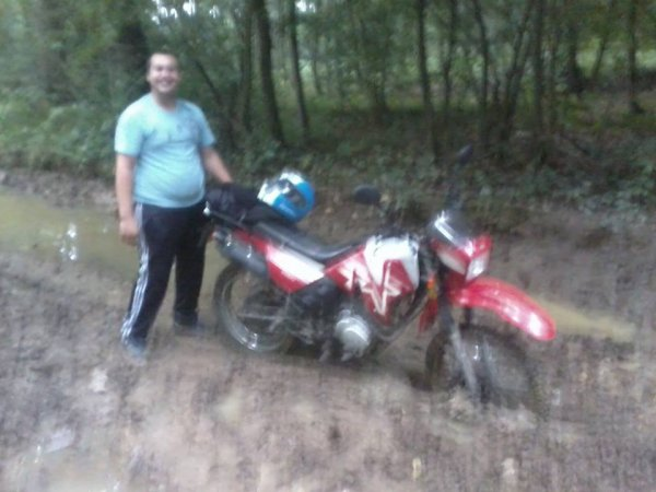 L'homme de ma vie & sa moto
