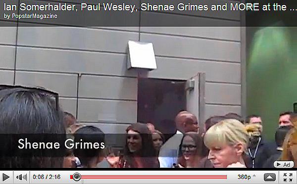 . ...Actualité. . Le 19 Mai, première soirée passée à New York, Shenae a retrouvé ses co-stars Tristan Wilds et AnnaLynne McCord à l'évènement organisé par la chaîne CW. .