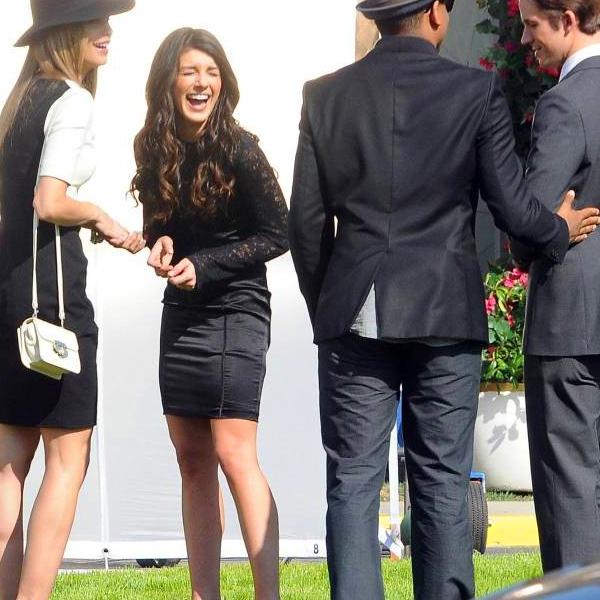 . Voici des photos de demux jours de tournages sur le set de 90210 le 1er et le 3 Février. .