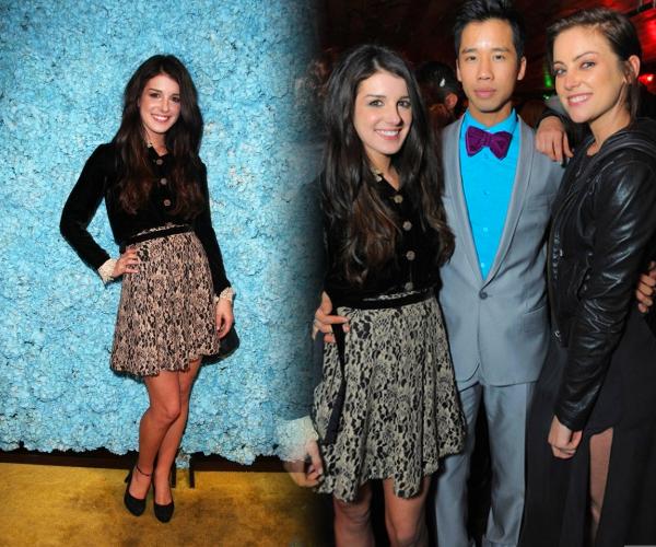 . Le 23 Mars, Shenae était invité à la soirée d'anniversaire du célèbre bloggeur Just Jared  .