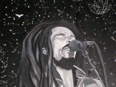 Bob Marley au paradis!!création  By linda Tatatron !!!!!