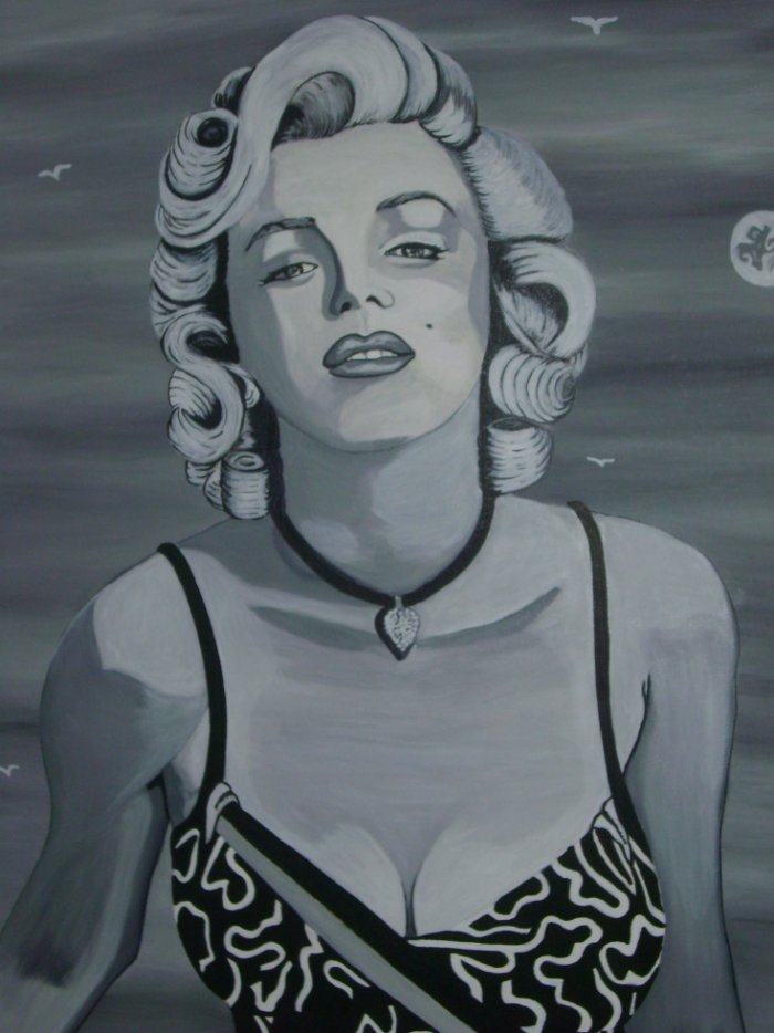 Marylin Monroe By linda Tatatron !!  ;)
