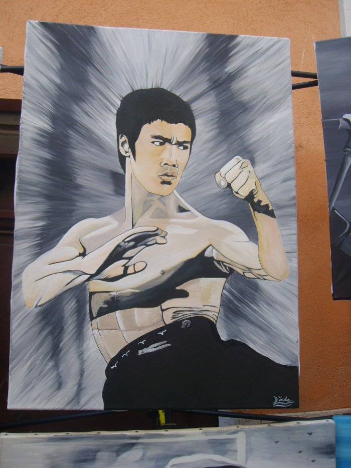 bruce lee By Tatatron !! <3