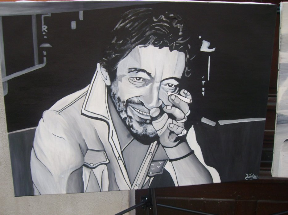 Serge Gainsbourg  By linda Tatatron !!!