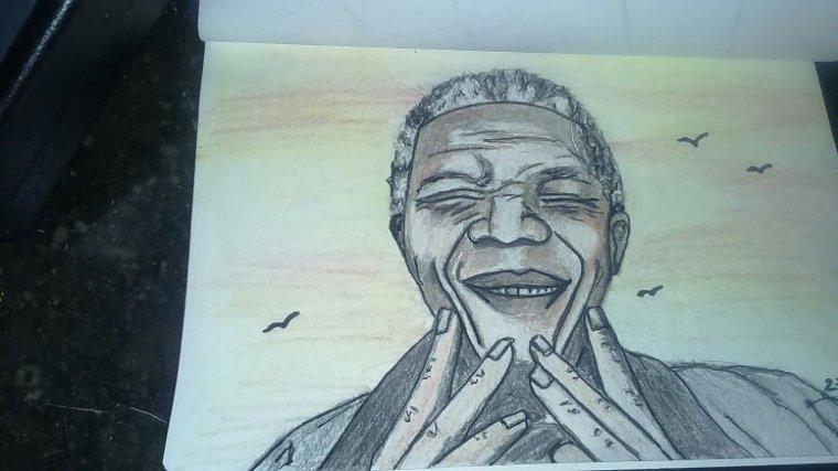Souriez à la vie !!! By Tatatron !! Nelson Mandela !