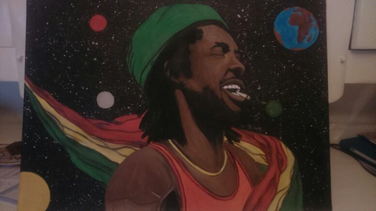 Peter Tosh by tatatron commencé hier fini demain ;-)