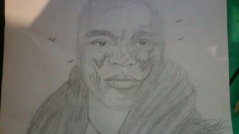 Seal....création crayon à papier portrait 15 minutes by linda Tatatron