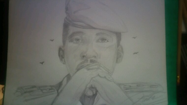 le grand Thomas Sankara création by Linda Tatatron !!!!
