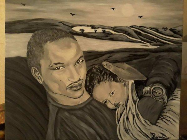 portrait by Linda Tatatron !!
