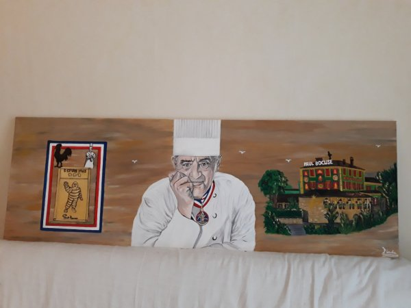 Paul Bocuse By Linda Tatatron