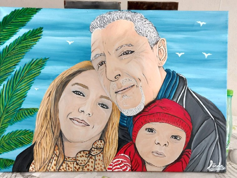 Portrait de famille par linda tatatron katjounis