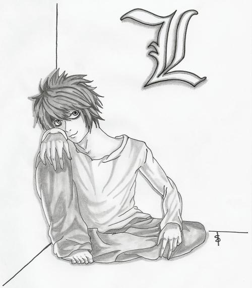 dessin manga death note