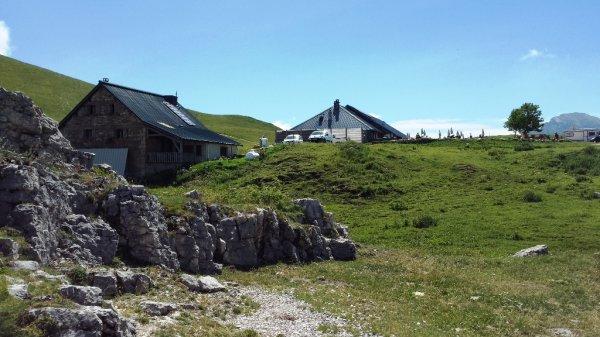 Ce w-k du 14 juillet, nous sommes allés faire un tour au Nord du massif de la Chartreuse.