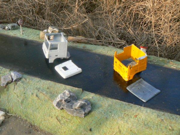 R alisation cabine xf 105 toit plat blog de minicamionsdetp for Realisation toit plat