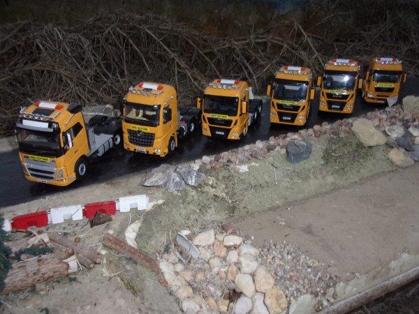Mise en peinture sur Tracteur WSI