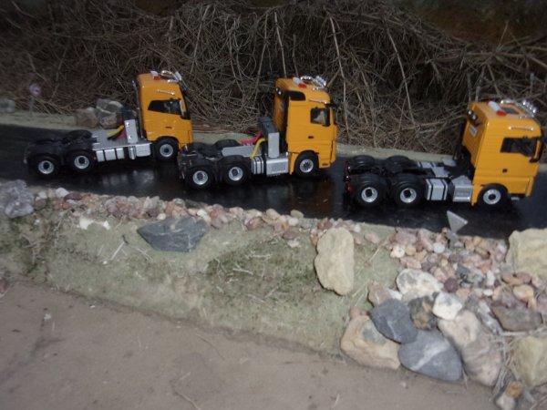 Mise en peinture sur Camions WSI