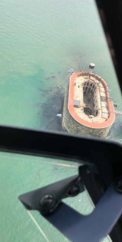 Vol en Hélicoptère au dessus de Larochelle