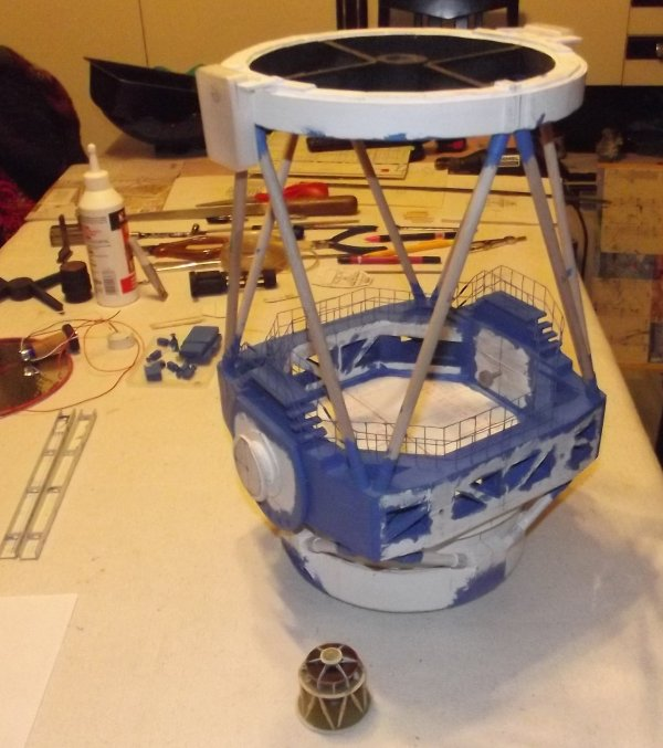 Maquette 1/43 télescope Subaru
