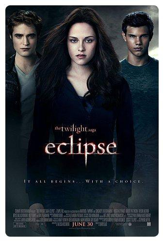 Les affiches de la saga Twilight :)